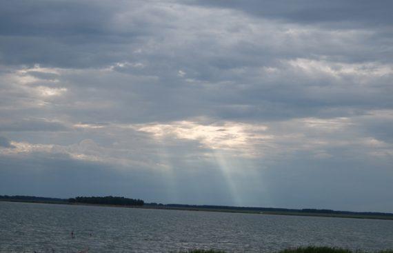 пейзаж озера Горькое фото